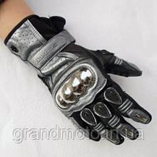 Мотоперчатки Scoyco MC13 шкіра/текстиль/метал