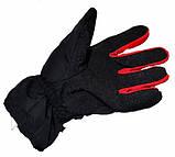 Теплі зимові мотоперчатки Probiker Winter з утеплювачем, фото 3