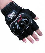 Мотоперчатки літні без пальців Probiker
