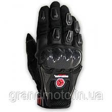 Текстильні мотоперчатки Scoyco MC09 чорні L
