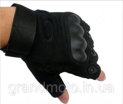 Мото/тактичні рукавички без пальців