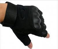 Мото/тактические перчатки без пальцев размер L, фото 1