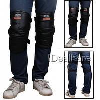 Теплая защита колен мотоциклиста укороченая