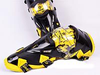 Мотонаколенники Scoyco K12 желтые