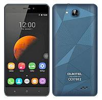 Смартфон Oukitel C3  экран 5 1280x720  с Android 6.0,3 Г WCDMA  1 ГБ RAM 8 ГБ ROM Quad Core Dual