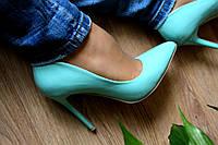 Туфли лодочка (Голубые)