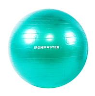 Мяч для фитнеса 65см IRONMASTER (салатовый)