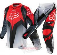 Кроссовый костюм (штаны+джерси) Fox Red, фото 1