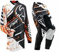 Кроссовый костюм (штаны+джерси) KTM Thor, фото 1