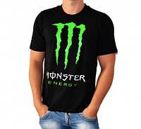 Футболка монстр ( Monster Energy ) M L XL черная