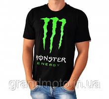 Футболка монстр ( Monster Energy ) M L XL чорний