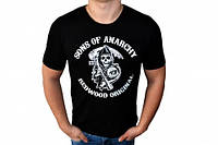 Футболка Сыны Анархии (Sons of Anarchy Стрейч) M L XL