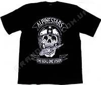 Футболка для мотоциклистов Alpinestars skull