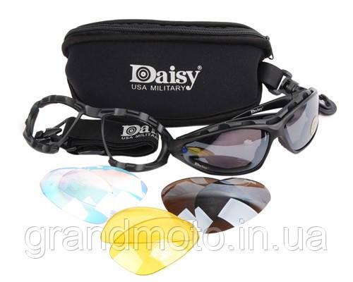 Мото/тактичні окуляри Daisy С4 зі змінними лінзами