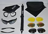 Мото/тактичні окуляри Daisy С4 зі змінними лінзами, фото 2