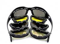 Мото-очки Daisy C5 со сменными стеклами