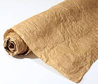 Бумага подарочная жатая Песочная 5 м/рулон
