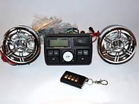 Аудио система для мотоцикла с управлением на руле