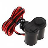 Прикуриватель + USB на руль с выключателем, фото 4