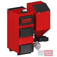 Твердотопливные котлы  с автоматической  подачей топлива  Amica GREEN ECO 100