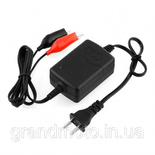 Зарядний пристрій для мото акумулятора 220в - 12в