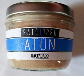 Паштет из тунца Hacendado Pate Atun, 125 г (Испания)