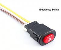 Кнопка аварийной сигнализации (аварийка) для мотоцикла, фото 1