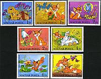 Венгрия 1982 мультяшки - MNH XF