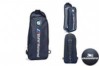 Мото рюкзак однолямочный BMW