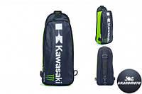 Мото рюкзак однолямочный Kawasaki