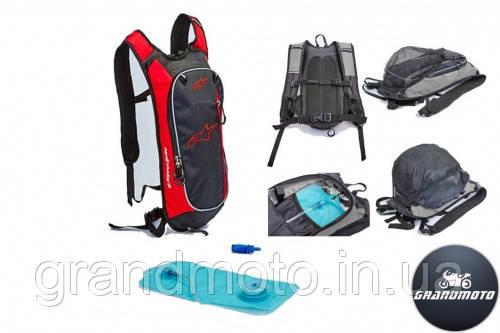 Рюкзак с гидратором Alpinestars Red