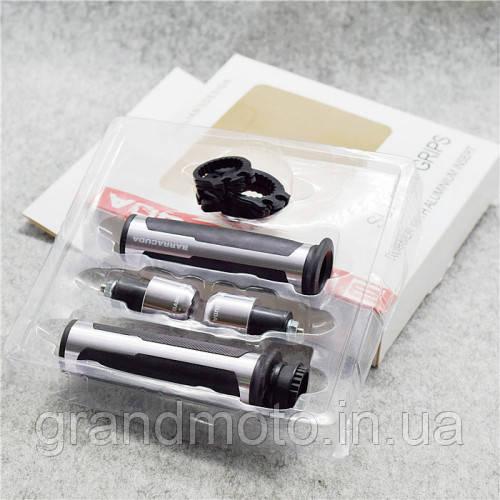 Ручки керма (гріпси) Barracuda silver