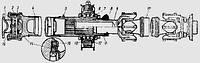 Вал карданный ГАЗ 52 в сборе, фото 1