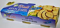 Тунец в подсолнечном масле Didi Atun en Aceite de Girasol ( 3 шт х 80 g ).