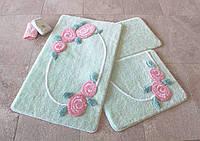 Набор ковриков (для ванной и туалета) №9024