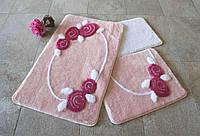 Набор ковриков (для ванной и туалета) №9025