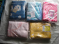 Детское одеяло баевое  розовое желтое