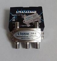 DiSEqC Коммутатор 2.0 DiSEqC 2.0 4x1 LionSAT LS-4D