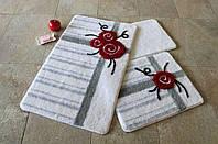Набор ковриков (для ванной и туалета) №9028