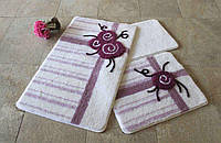 Набор ковриков (для ванной и туалета) №9029