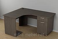 Стол угловой c-234 (1500*1200*726h) офисный