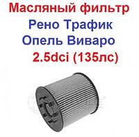 MEYLE Германия Масляный фильтр 2,5 (135 лс) на Рено Трафик Опель Виваро