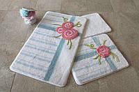 Набор ковриков (для ванной и туалета) №9030