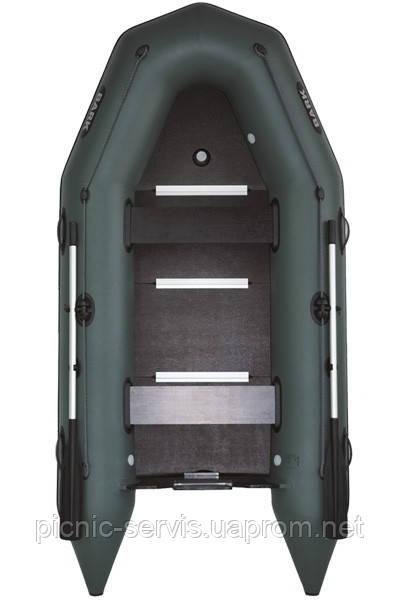 BARK ВТ-310S килевая надувная лодка ПВХ моторная Трехместная жесткий разборной настил