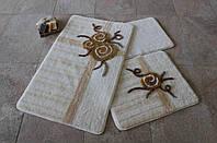 Набор ковриков (для ванной и туалета) №9031