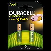Аккумуляторы Duracell - Basic Recharge AAA HR03 Ni-MH 750mAh 1.2V 2/20/200шт