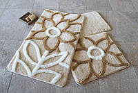 Набор ковриков (для ванной и туалета) №9032