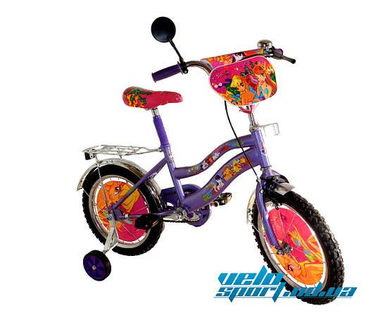 "Детский велосипед Mustang - ""Winx"" (14 дюймов)"