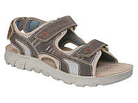 Мужские модные легкие коричневые сандалии Inblu TL02