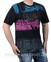 Мужская футболка большого размера 2XL-5XL черная